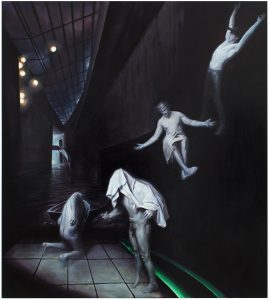 Ghosts, 2014, oil on canvas, 200 x 180 cm