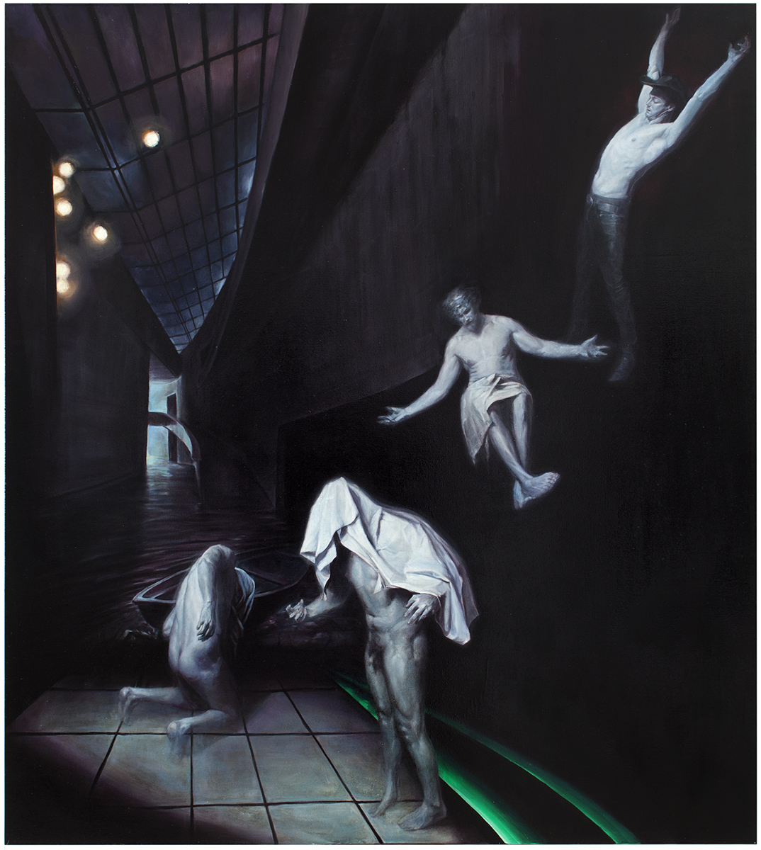 Ghosts, 2014, oil on canvas, 200 x 180 cm, 9500 €