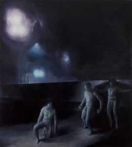 Ghost on the Border, 2014, oil on canvas, 200 x 180 cm, 9500 €