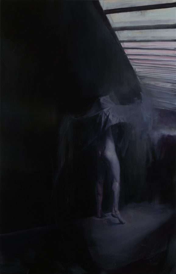 Night Watch, 2014, oil on canvas, 125 x 80 cm, in private collection